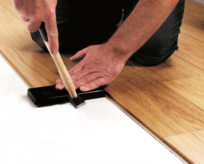 Как уложить ламинат