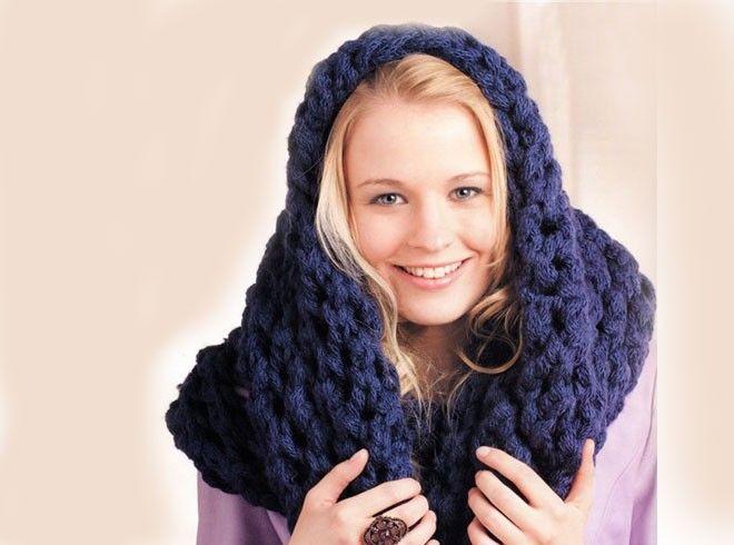 Снуд спицами: схемы вязания