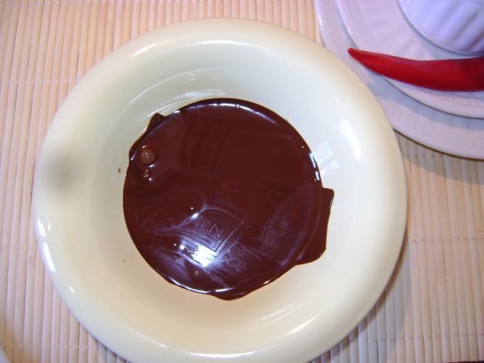 Растопить шоколад в микроволоновке