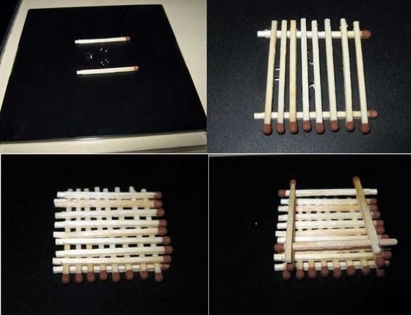 Как сделать домик из спичек своими руками пошаговая инструкция видео