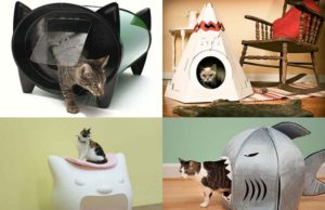 Домики для кошек