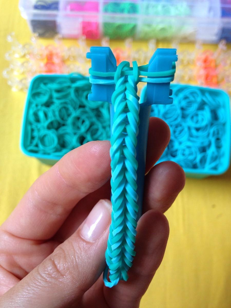 Животные из резинки для плетения браслетов