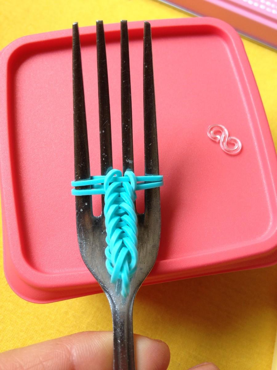 Как сделать браслет с вилкой