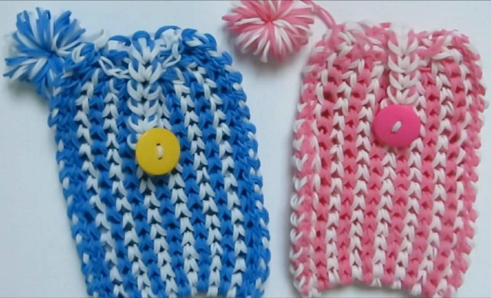 Модные браслеты из резинок
