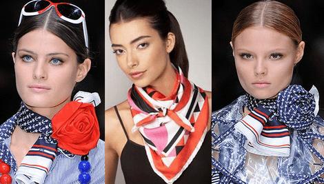 Как завязать на шее платок
