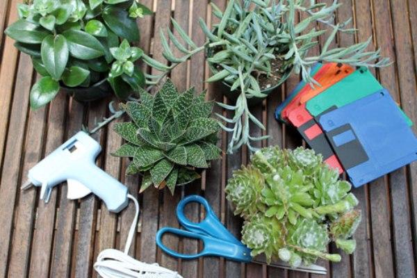 Делаем горшочек для цветов: инструменты