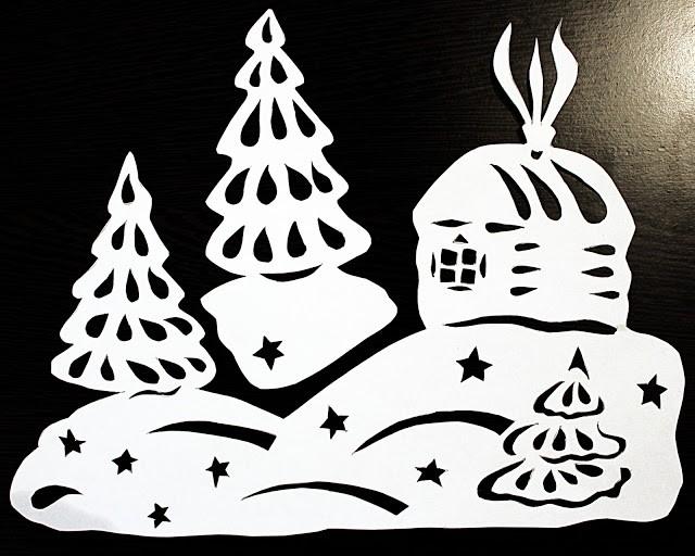 Шаблон новогодних украшений шаров