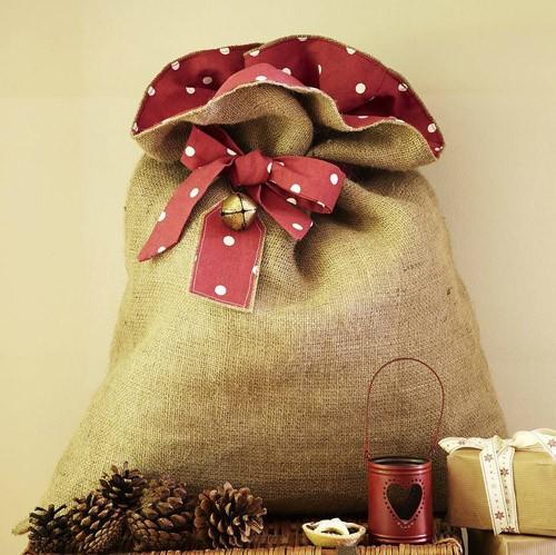 Мешочек для подарков своими руками