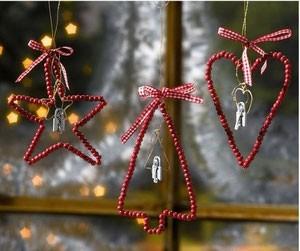 Делаем новогоднее украшение на елку