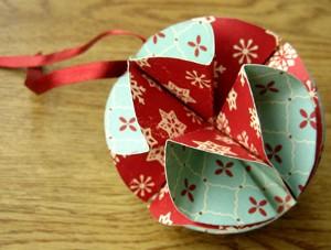 Бумажный шар 1