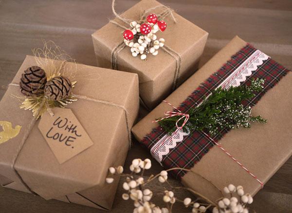 Стильные коробки на Новый год