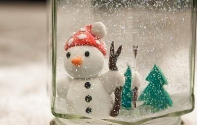Как мастерить новогодний шар  4