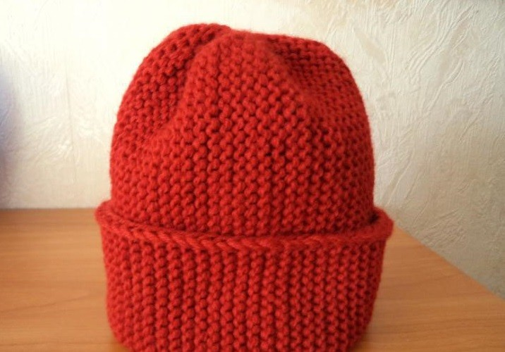 Вяжем шапку бини