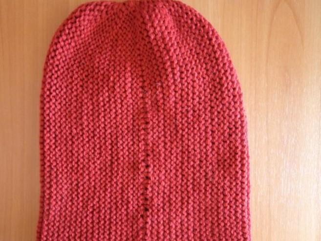 Вяжем шапку бини-шаг 11
