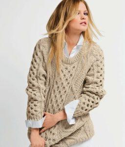 Модные вязаные свитера 2016