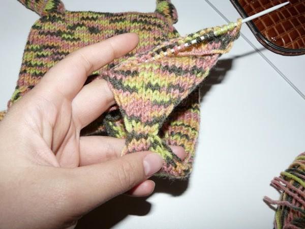 Вязание шапочки спицами для детей от 1 до 2 лет: фото 12