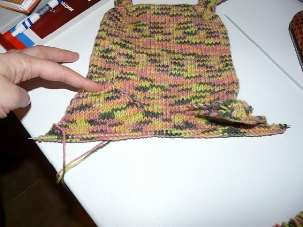 Вязание шапочки спицами для детей от 1 до 2 лет: фото 13
