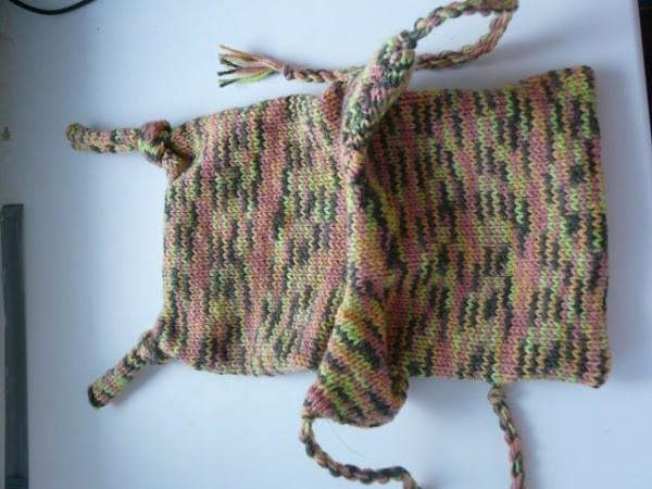 Вязание шапочки спицами для детей от 1 до 2 лет: фото 15
