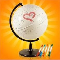 Глобус на 14 февраля