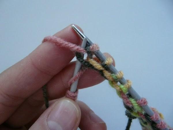 Вязание шапочки спицами для детей от 1 до 2 лет: фото 6