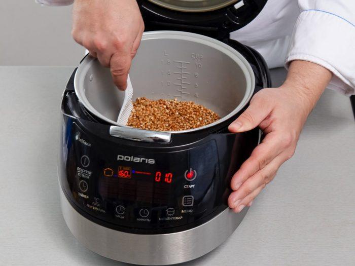 Как приготовить вкусную гречку в мультиварке?