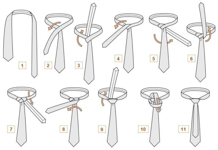 """Как завязать галстук стилем """"Мюррелл""""?"""