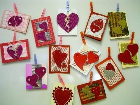 Подарки к св. валентин своими руками