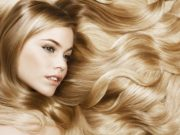 Красивые волосы блонд