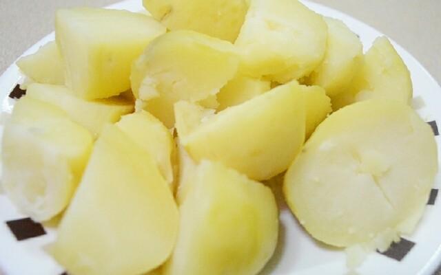 Картофелины из микроволновки