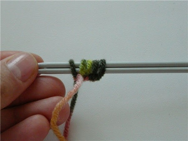 Вязание шапочки спицами для детей от 1 до 2 лет: фото 1