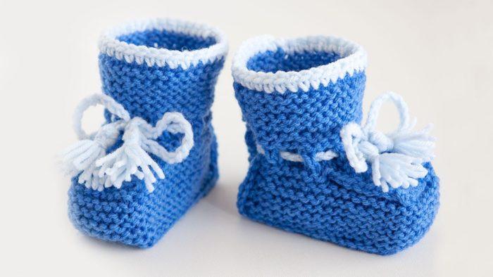 Вяжем жилетки для малышей
