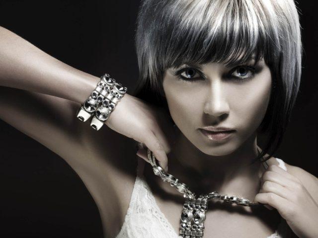 Красивые серебряные украшения