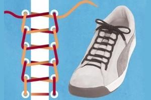 Как оригинально завязывать шнурки на туфлях
