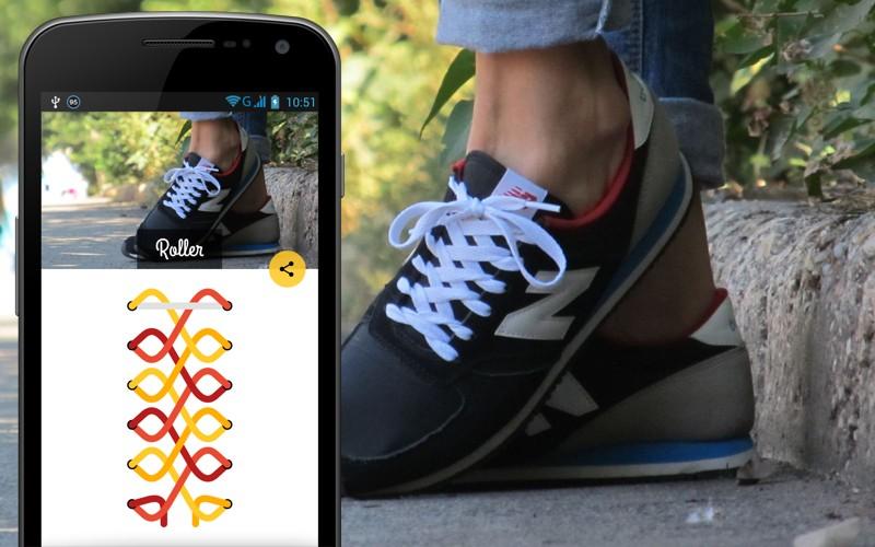 Как завязать шнурки на кроссовках: схема 3