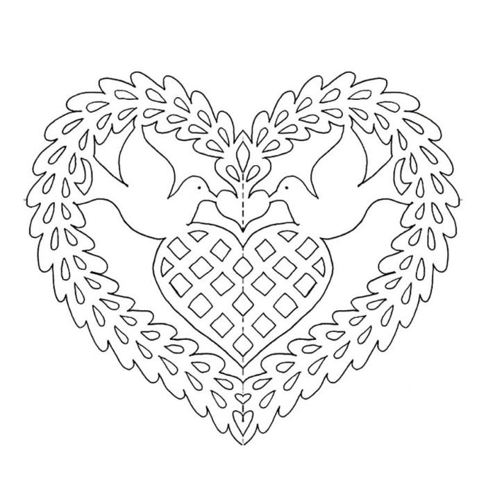 Рисунок серце