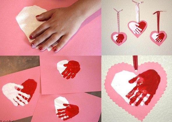 Валентинки своими руками маме