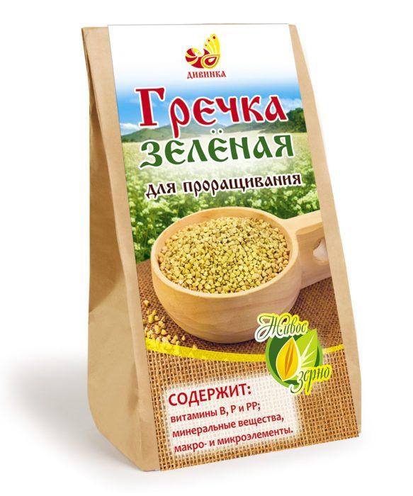Как приготовить зеленую гречку