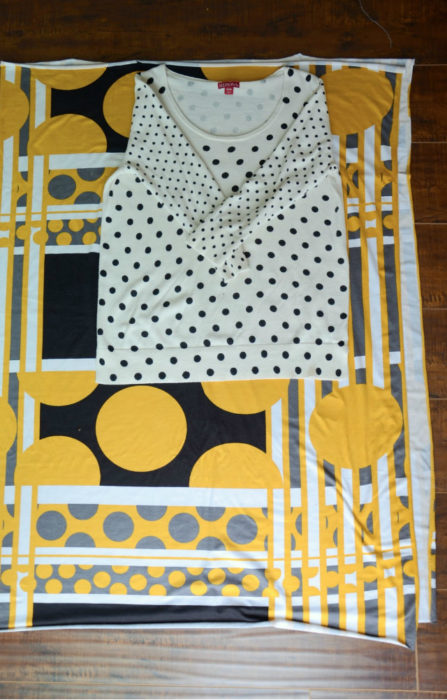 Как сшить платье без выкройки - пошаговый мастер-класс с фото 1