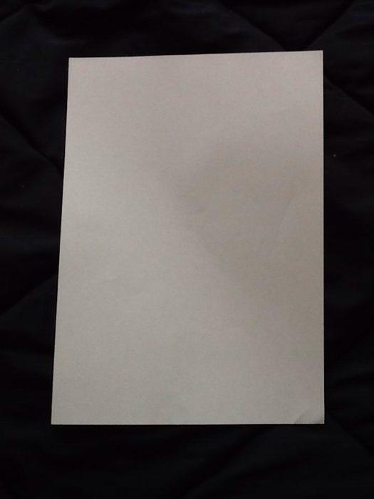 Как сделать из бумаги когти рыси: 1 этап