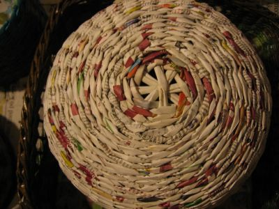 Как сделать шар из газет: мастер-класс 13