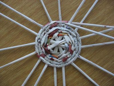 Как сделать шар из газет: мастер-класс 3