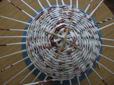 Как сделать шар из газет: мастер-класс 7