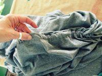 Простое платье своими руками из двух футболок: затягиваем пояс