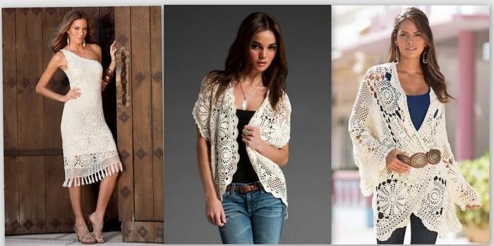 Вязанные изделия крючком: модные модели 2016 года