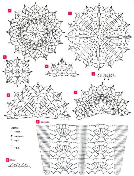Схема вязания узоров: модели 2016 года