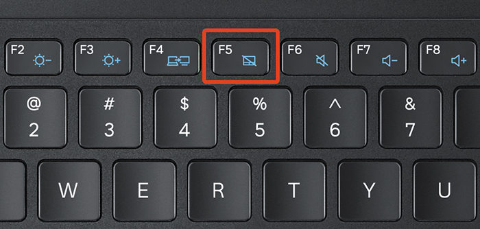 Где находится клавиша F5 на клавиатуре?