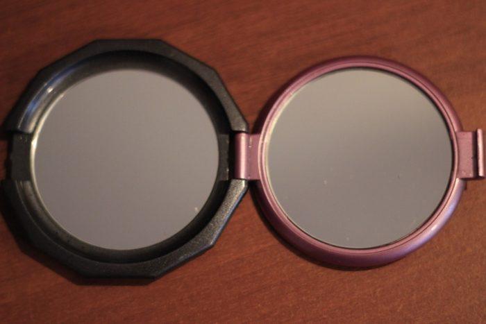 Что будет, если отсканировать двойное зеркало на бумагу