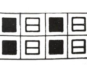 Жемчужный узор: схема вязания