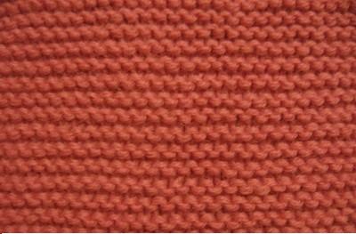Узоры для вязания на спицах: платочная вязка