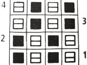 Крупный жемчужный узор: схема